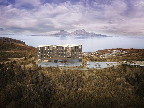 Det planlagte hotellet på Rønvikfjellet skaper debatt i hele Bodø. En fersk meningsmåling viser at 54,1 prosent av byens befolkning er posivite til hotellet.