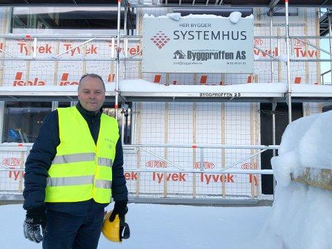 Kjededirektør Trond Lie i Systemhus.