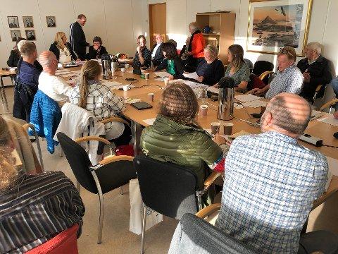 Valg: Det nye kommunestyret i Steigen foretok en rekke viktige valg på sitt første møte, blant annet av kontrollutvalg og plan- og ressursutvalg.