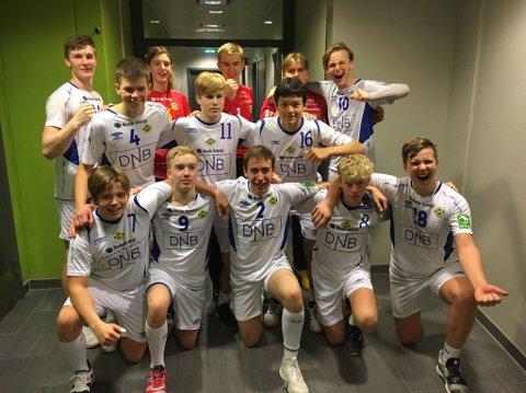 BRING: Bilde fra da BHKs G16 kvalifiserte seg til BRING-serien i høst. Denne helgen kan du se de unge talentene to ganger når de spiller hjemme i Bodøhallen.