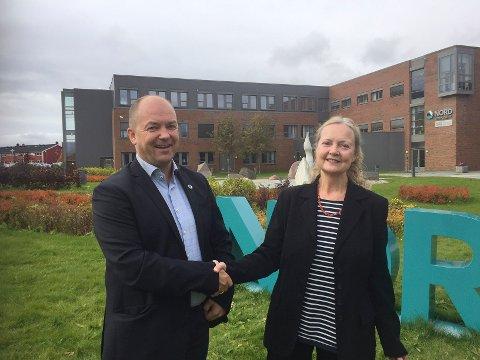 Morten Edvardsen og Janice Bland ved Nord universitet har fått akseptert to søknader for å gjøre lærerutdanninga bedre.