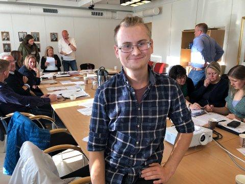 Tror: Selv om han blir eneste representant for Rødt i kommunestyret i Steigen har Jacob Dybvald Ludvigsen tro på at det skal være mulig å få gjennomslag for en del saker.