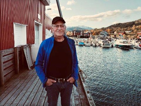 Stengt: Nordfold Fiskerikai  AS måtte holde stengt en lang periode i høst på grunn av vannmangel. Nå har styreleder Jan Gabrielsen krevd kompensasjon av Steigen kommune for inntektstap.