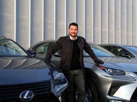 Lexus lanserer sin første elbil: Morten Teksnes, Brand Manager for Lexus Bodø. Foto: Lexus Bodø.