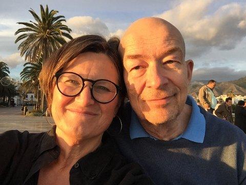 Flyttet til Spania: Etter å ha bodd og jobbet i GIldeskål de siste fire årene pakket Torbjørg og Jon Aalborg sakene sine og flyttet til Spania hvor de begge har fått jobb i Sjømannskirken.