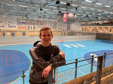 Bodøgutten Eirik Oskarsen er markedssjef i Haslum.