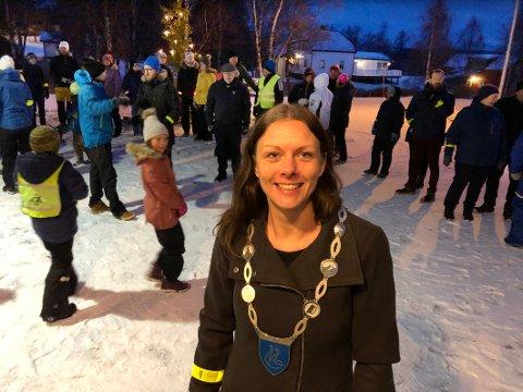 Ny mulighet: - Nå har vi muligheten til å bygge en ny kommune og et nytt fellesskap. Vi skal se framover, men ta med oss det beste fra de gamle kommunene, sier ordfører Britt Kristoffersen i Hamarøy.