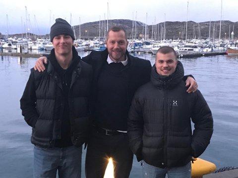 Rikard Bakke Olsson har ikke vært på fisketur, men han er i ferd med å få på plass to viktige forsterkninger til BHK. Ørn Vestenisson Östenberg og Anton Andreasson blir snart spilleklar for BHK.