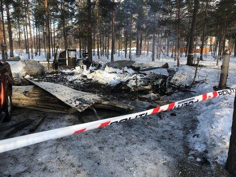 Ekteparet fra Rana omkom i brannen.