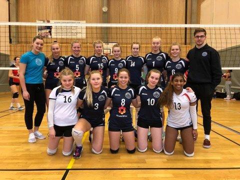 Jentene i Bodø Volley har spilt seg til finale i NM for U17.