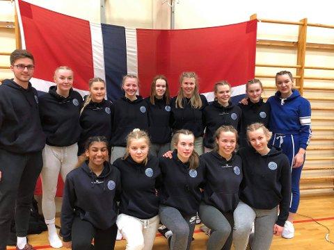 Gulljentene fra Bodø Volley.