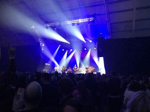 Kobberløpsfesten i SKS Arena på Fauske ble en suksess i år også. Foto: Stian Høgland