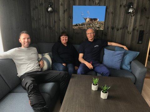 Erik Jensen Liland, Mona Mosti og Thor Åge Jensen.