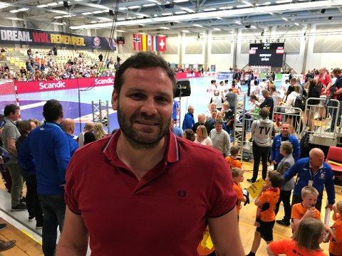 Geir Daniel Larsen blir ny sportssjef for håndballen ved NTG Bodø. Foto: Freddy Toresen