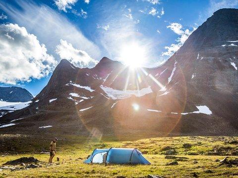 Teltjakten 2019 er igang. Lørdag kan du komme deg ut på tur - og vinne telt samtidig.