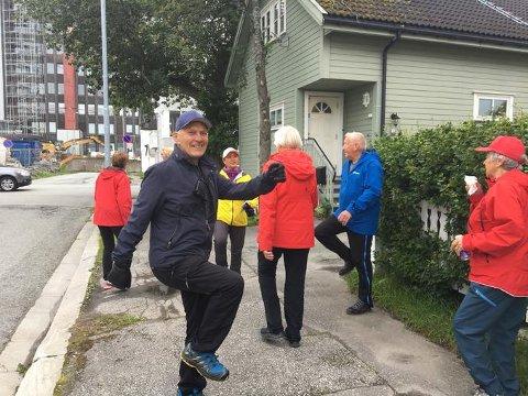 Oppvarming: Dagen før Bodø Run Festival inviterer Tusenhjemmet til gåtur, marsj eller løpetur.