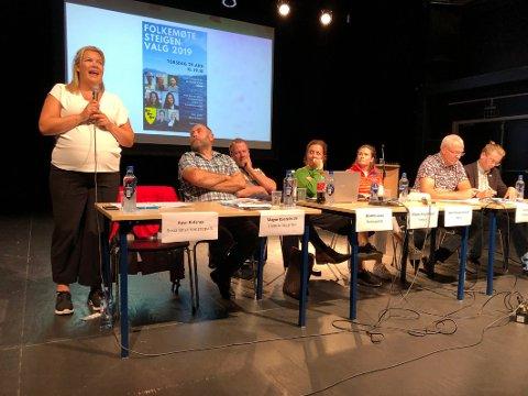 Sto fram: Aase Refsnes signaliserte under hele valgkampen et sterkt ønske om å bli ordfører i Steigen. Det målet har hun nå nådd.
