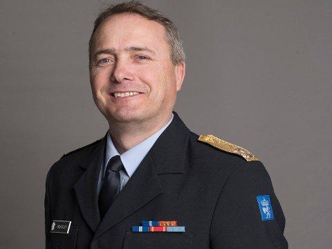 Jørn Atle Moholdt er stabssjef i Sivilforsvaret ved DSB.
