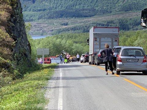Dødsulykken i Gildeskål på fylkesvei 17 i mai i fjor.