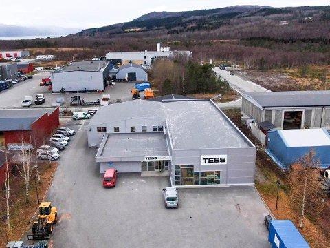 Til salgs: Næringseiendommen kan bli din om du sitter inne med en del millioner kroner. Foto: Nord-Megler.