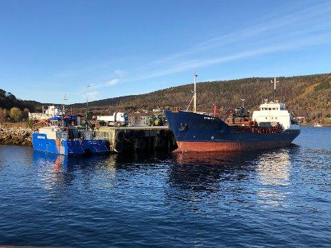 Containernavn: Det har vært jobbet lenge for å få realisert planene om containerhavn på Drag. Manglende offentlig medfinansiering i prosjektet har bidratt til å forsinke det.