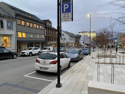 Det kom en rekke endringer for parkering i Bodø sentrum etter nyttår.