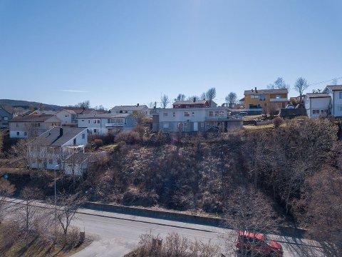 TOMT: På denne tomten skal et nytt funkishus til 11,2 millioner bygges. Selges den til denne prisen, blir boligen en av flere i rekken som har blitt solgt for over 10 millioner i Bodø den siste tiden.
