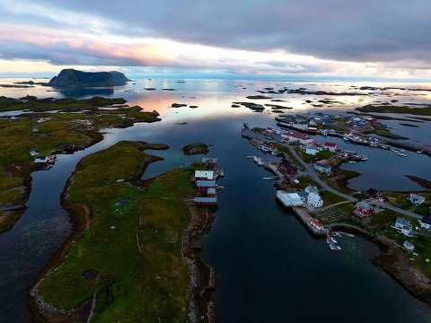 Røst har i prosent flest arbeidsledige i Nordland.