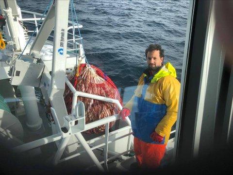 Tor-Andreas Nilsen er tilbake på havet, bare en knapp uke etter at det holdt på å gå fryktelig galt