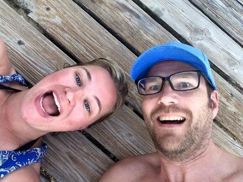 Vera Arntsen og Knut Folkestad er fremdeles i jublet etter å ha vunnet en premie som ville snu hagen deres i Bodø opp ned.
