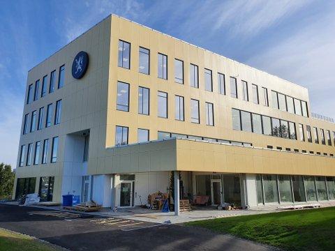 Fylkesmannens nye bygg, Byporten, nærmer seg ferdigstillelse.