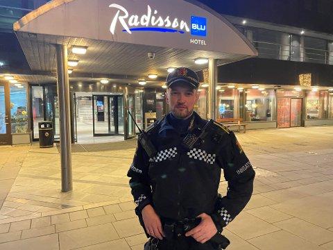Innsatsleder for politiet Jon-Inge Moen.