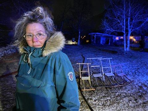 Mer enn et hus: – Det er mer enn et hus jeg har mistet. Hele gården er noe jeg har skapt helt på egen hånd, sier Lillian Låve Selvik.