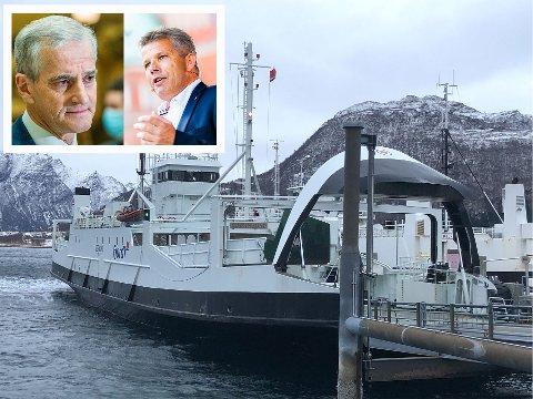 Løfte: Ap peker på at de har god historie på å  holde sine valgløfter og smeller nå til med å halvere billettprisene på passasjerbåtene langs norskekysten dersom de kommer i regjering.