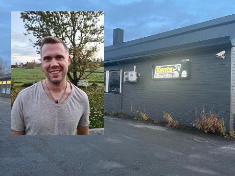 Jonas Tverrå Løkås (34) tar over bilverkstedet på Fauske 1. november.