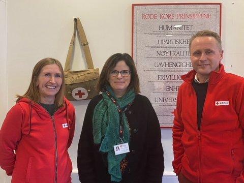 Vera Isachsen, Torild Nordland og Erik Andre Sølberg ser fram til å åpne Fellesverket i Bodø.