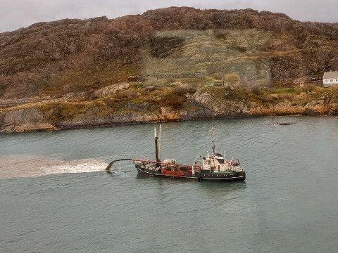 Båten Gerd Stensen i Bodø havn.