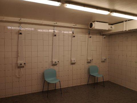 Vanntrøbbel: Tilbyr vannforsyning og tilbud om dusj på skolen.