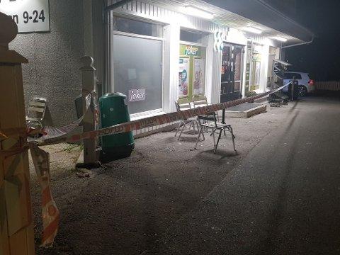 Det var i september i 2019 at tre personer ble pågrepet for ransforsøk mot Joker i Parkveien i Bodø