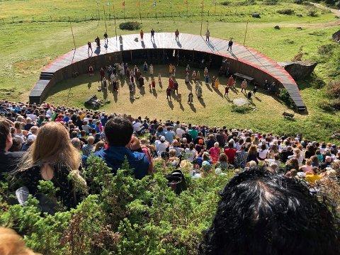 Utsolgt: Arrangørene av Steigen Sagaspill har tro på at årets forestillinger kan bli utsolgte.