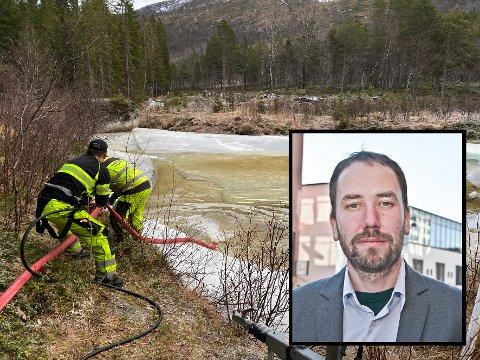 Beredskapssjef Asgeir Jordbru hos Statsforvalteren i Nordland sier det er en utfordrende situasjon.