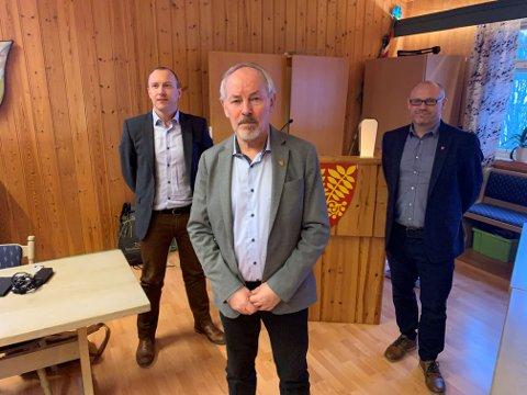 Rolleskifte: Etter at Ronny Seljeseth valgte å takke ja til nye utfordringer, har kommunen med ordfører Rune Berg i spisses blitt nødt til å se seg etter en erstatter. Til å starte med blir det Stein Ole Rørvik.