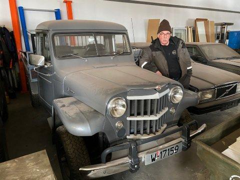 Nytt liv: Kjell Fossums store hobby gjennom mange år er å gi nytt liv til gamle kjøretøyer som har sett sine beste dager. Det er jobb han har lyktes godt med.