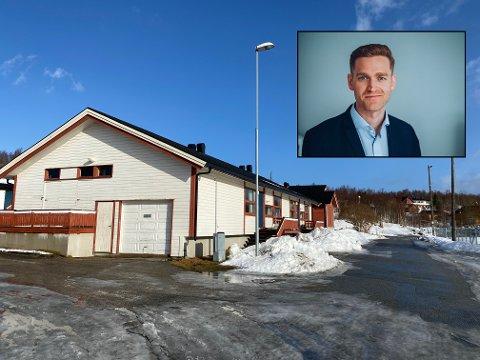 Daglig leder i Studentinord, Kristian Brunsvik Olsen, gleder seg over planene for Skavdalslia.