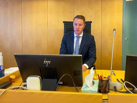 Tarjei Ræder Breivoll var tingrettsdommer i saken.