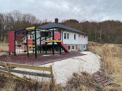 Barnløs: Barnehagen på Skutvik har vært uten unger de to siste årene. Dersom det melder seg nok søkere kan det etter hvert være muligheter for gjenåpning. Det forutsetter at politikerne sier ja til det.