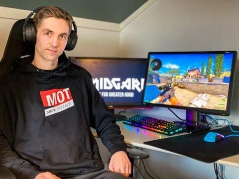Martin Solbakken og resten av Team Midgard er blitt MOT-ambassadører som de første nasjonale innen e-sport.