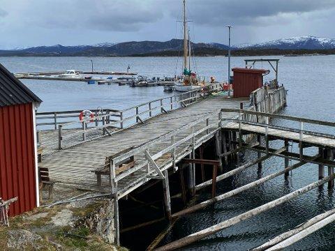 Snart historie? Loskaia på Tranøy er i så dårlig forfatning at den trolig snart blir revet. Det vil skape mange utfordringer for blant annet den lokale båtforeningen, men også for Tranøy som reiselivsmål.