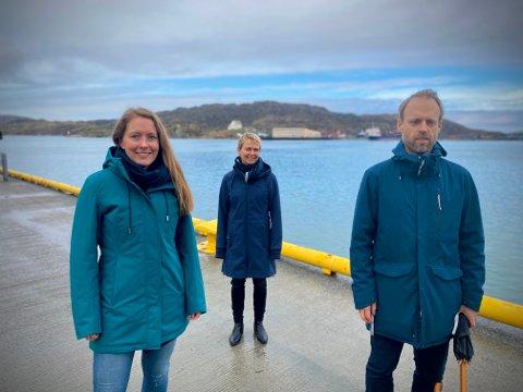 Tar tak: 25. mai arrangeres tidenes første Blå Uke i Bodø. En uke som skal løfte havbruk som tema og Bodø som havbruksby. Det skal blant annet Kristin Haugen (BRUS), Christine Ilstad og Anders Tørud fra KPB sørge for.