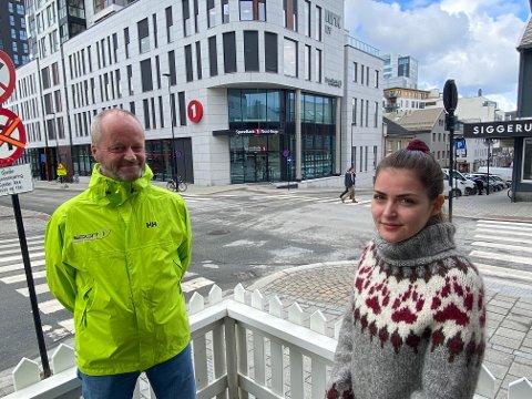 Ola Sakshaug og Susanne Angell